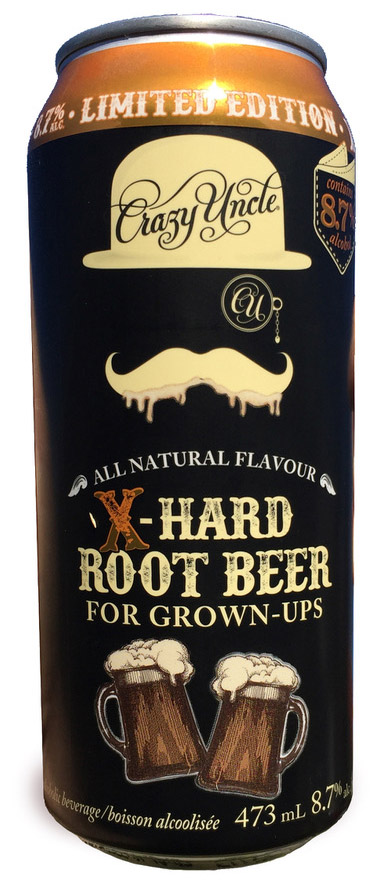 X Hard Root Beer November 2017 website