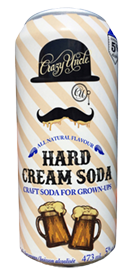 Crazy Uncle Hard Cream Soda med