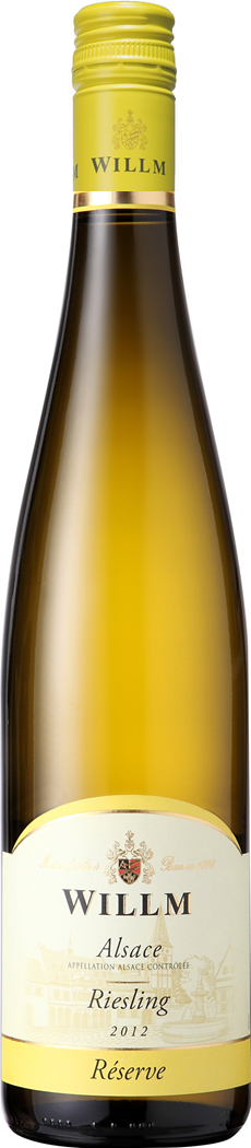 Alace Willm Riesling New bottle- screw cap
